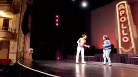 See Sheinelle Jones get a tap-dance lesson from her idol, Savion Glover
