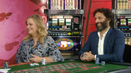 Amy Poehler and Jason Mantzoukas talk about new movie 'The House'