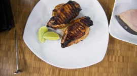 Try Michael Lomonaco's grilling tips for steak, chicken and fish