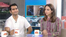 Kumail Nanjiani and Zoe Kazan, stars of 'The Big Sick,' talk about the real story behind the movie
