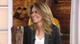 Shania Twain wrote 'From This Moment On' at a soccer game