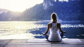 One-minute meditations to calm both body and mind