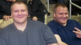 Twin brothers lose nearly 350 pounds together