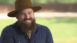 Zac Brown tells Willie Geist about the time his 1st guitar was stolen