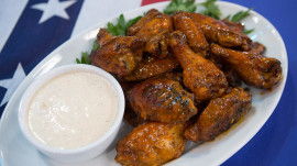 4th of July BBQ: 'Wing' it with these smoked and charred hatch vinegar chicken wings