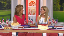Hoda: I accidentally kicked sand in Haley Joy's face at the beach and didn't know it!