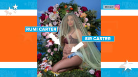 Is this a clue to Beyonce and JAY-Z's twins' names?