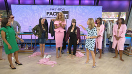 Watch Tyra Banks and Sheinelle Jones have a frantic fashion face-off