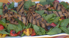 Make this delicious Brazilian steak salad: Camila Alves shows how
