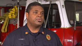 Former NFL player turns from football to firefighting