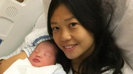 NYPD widow gives birth 2 years after her husband's death