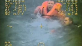 Captain leaps into cold Alaska waters to rescue his crewmen