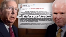Mitch McConnell delays health care vote as John McCain recovers from surgery