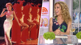 Kathie Lee can't recognize photo of herself as a redhead in Las Vegas