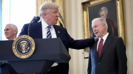 Trump lashes out at Jeff Sessions in explosive new interview