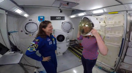 Watch Jenna Bush Hager learn what it's like to be weightless in NASA training