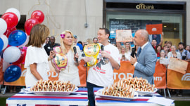 Meet the winners of Nathan's Hot Dog Eating Contest