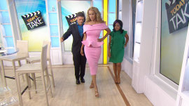 See Tyra Banks demonstrate how to do the perfect runway walk: 'Shake your booty'