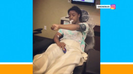 Simone Biles shares hilarious post-wisdom tooth removal video