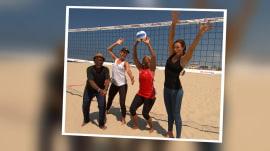 See Al Roker make a volleyball-loving mom's dream come true