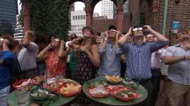 See how the TODAY anchors viewed the eclipse together (with margaritas)