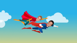 See Dean Cain and Jill Martin go up, up and away for fall Steals and Deals