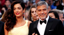 George Clooney jokes about challenges of raising twins