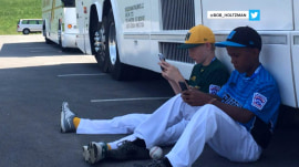 Watch 2 Little Leaguers use Google Translate to communicate