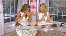 It's National Ice Cream Sandwich Day, and Hoda is in heaven