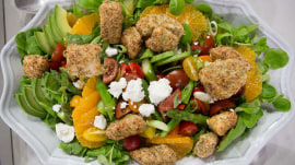 Make popcorn chicken and Texas summer salad: It's tasty AND healthy