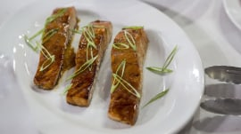 Make this easy teriyaki salmon for a simple summer supper