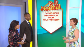 'Is It Normal' to keep secrets from your spouse? Expert says…
