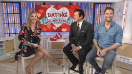 Dean Cain and Ryan Eggold share their dating do's and don'ts