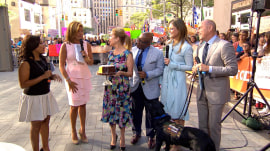 Watch Kathie Lee bring Hoda Kotb to tears with surprise birthday cake