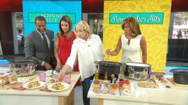 Make Martha Stewart's slow-cooker chicken 3 delicious ways