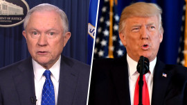 Jeff Sessions: Trump 'made a strong statement' about Charlottesville violence