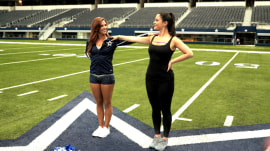 Visit Dallas Cowboys Cheerleaders camp with KLG and Hoda's Donnadorable