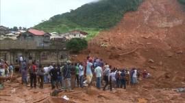 Deadly mudslide in Sierra Leone kills at least 270