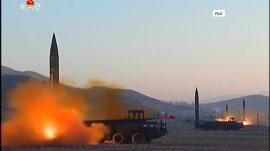 North Korea fires 3 short-range missiles into the sea, posing no threat to Guam