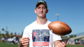 UCLA quarterback Josh Rosen says football and school don't mix