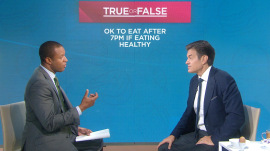 Are you a 'night owl' who eats too much in the evening? Dr. Oz has advice