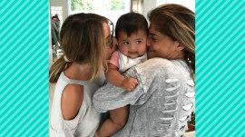 Hoda Kotb's baby Haley Joy gets an adorable 'sandwich' hug
