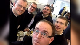Seminary students mistaken for wild bachelors