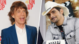 Brad Paisley on friendship with Mick Jagger: 'He's a real guy and I adore him'