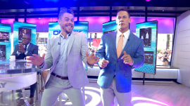 Derek Hough previews 'World of Dance' finale (and dances with John Cena)