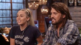Miley Cyrus and Billy Ray Cyrus talk about 'The Voice' and his infamous mullet