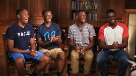 Ohio's Wade quadruplets start their freshman year at Yale