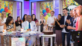See Al Roker get a birthday surprise from TODAY anchors (and Mr. T!)