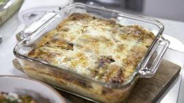 Grilled zucchini lasagna, pasta alla Norma: Delicious end-of-summer dishes