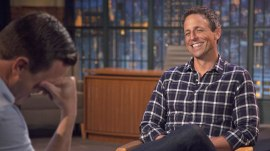 'He took it too far': Seth Meyers 'blames' Obama for making Trump run for president